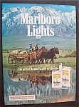 1985  Marlboro  Lights  Cigarettes