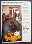 1988  Embassy  Suite  Hotels  with  Garfield  The  Cat