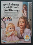 1988 Special Blessings Doll with Girl Praying with Doll