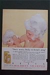1959 Breck Children's Shampoo with Little Girl