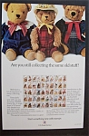 Click here to enlarge image and see more about item 7072: Vintage Ad: 1987 U. S. Postal Service