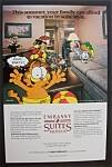 1987  Embassy  Suite  Hotels  with  Garfield  The  Cat