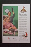Click here to enlarge image and see more about item 709: Vintage Ad: 1959 Pitney-Bowes Postage Meter