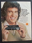 1980  Kodak  Ektralite 10 Camera  with  Michael  Landon