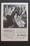 Click here to enlarge image and see more about item 714: 1959  Air Express Airlines