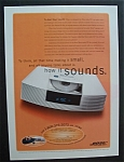 2000 Bose Wave Radio/CD with the Bose Wave Radio
