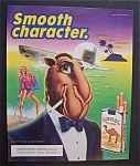 1989  Camel  Cigarettes with Joe the Camel