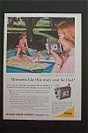 1959 Eastman Kodak Company w/ Mother Filming Children