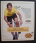 Click here to enlarge image and see more about item 7222: 1991  California  Almonds with  Greg  Le Mond