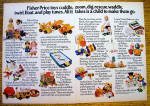 1975 Fisher-Price Toys with Sesame Street, Dolls & More