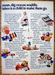 Click to view larger image of 1975 Fisher-Price Toys with Sesame Street, Dolls & More (Image3)