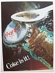 Vintage Ad: 1985  Coke  Is  It