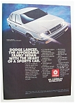 1986  Dodge  Lancer
