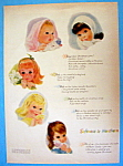 Click to view larger image of 1959 Northern Tissue with 5 Pretty Little Girls (Image1)