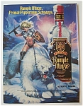 1991  Rumple  Minze  Liqueur