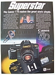 Click here to enlarge image and see more about item 7388: 1985 Canon T70 Camera with Wayne Gretzky