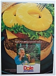 Vintage Ad: 1987 Dole Pineapple with Kenny Rogers