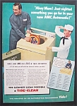 1956 AMC Automatic Washer  &  Tide  Detergent