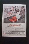 1959 Jacobsen Lawn Mower with Man Mowing Lawn