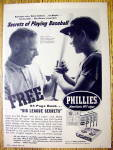 1959 Phillies Cigars with Richie Ashburn