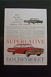 1959 Chevrolet (Chevy) with the Impala Sport Coupe