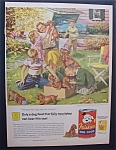 1955 Friskies Dog Food By Harry Anderson w/Puppies