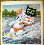 Click to view larger image of 1955 Snow Crop Lemonade with Bear Water Skiing (Image2)