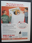 1955  Speed  Queen  Automatic  &  Tide  Detergent