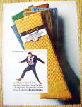 1967 Interwoven Socks with Jerry Lewis As The Big Mouth