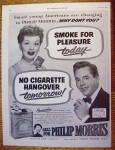 1952 Philip Morris w/Lucille Ball & Desi Arnaz