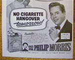 Click to view larger image of 1952 Philip Morris w/Lucille Ball & Desi Arnaz (Image4)