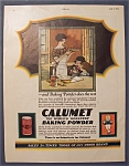 1924  Calumet  Baking  Powder