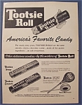 Vintage Ad: 1953 Tootsie Roll Candy