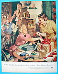 Click to view larger image of 1954 Getting Ready For Christmas By Haddon Sundblom (Image1)