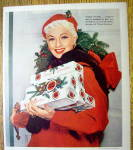 Click to view larger image of 1954 Lucky Strike Cigarettes with Ann Sothern (Image2)