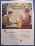 Click here to enlarge image and see more about item 7803: Vintage Ad: 1954 Watchmakers/Norman Rockwell