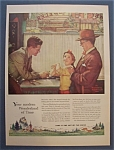 Click here to enlarge image and see more about item 7805: Vintage Ad: 1955 Watchmakers /Norman Rockwell