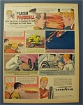 Vintage Ad: 1965 Goodyear Wingfoot 175 w/ Flash Farrell