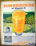 1959 Powerhouse Orange Juice with Mickey Mantle