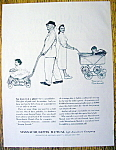 Vintage Ad:1962 Massachusetts Mutual By Norman Rockwell