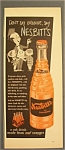 Vintage Ad: 1955  Nesbitt's  Orange