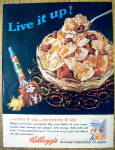 Click to view larger image of Vintage Ad: 1965 Kellogg's Sugar Frosted Flakes (Image1)