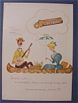 Vintage Ad: 1955  Butter Rum  Life Savers