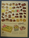 Vintage Ad: 1955  Whitman's  Sampler