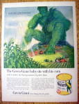 Vintage Ad: 1961 Green Giant Niblets with Green Giant