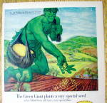 Click to view larger image of 1961 Green Giant Niblets with Jolly Green Giant (Image2)