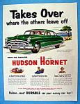 Vintage Ad: 1951 Hudson Hornet