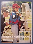 1973  Benson  &  Hedges 100's  Cigarettes