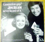 Click to view larger image of 1972 Jim Beam Whiskey with Bette Davis & Robert Wagner (Image2)