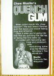 Click to view larger image of 1978 Quench Gum Ad with Meadowlark Lemon (Image3)